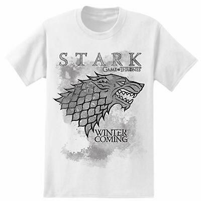 HBO Game of Thrones Mens Winter Is Coming Stark Graphic Print T-Shirt