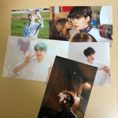 BTS Exhibition Official Live Photo Set Season 2 SUGA  24/7=Serendipity