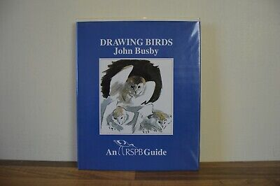 Drawing Birds An RSPB Guide - John Busby - Hardback 1986 (CB)