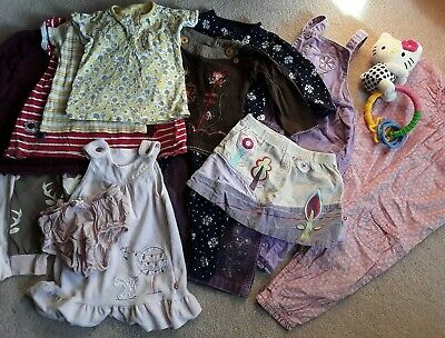 Baby Girl Clothes Bundle 6-9 Months 16 Items