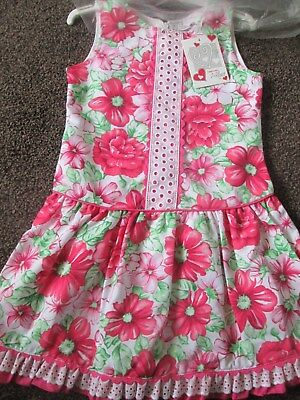 NEW  Girls ALBER Spanish Dress Absolutely Beautiful Size 7 Years