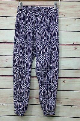 ec544e4c1766b9 Faded Glory Girls Casual Pants Size M 7-8 Elastic Cuff And Waistband