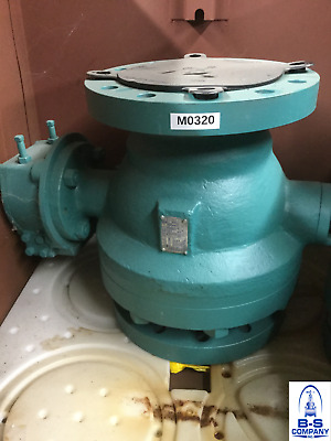 "Ball Valve 6"" 300 Flanged Full Port Trunnion Gear Op PBV C-6830-712200-DH-NG"