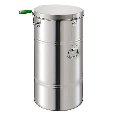 Stainless Steel 2/4 frame Manual Honey Extractor Bee Beekeeping Commercial