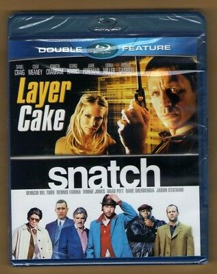 LAYER CAKE + SNATCH new blu-ray DOUBLE FEATURE