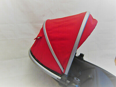 Silver Cross Surf 2 3 Graphite Hood  - Red