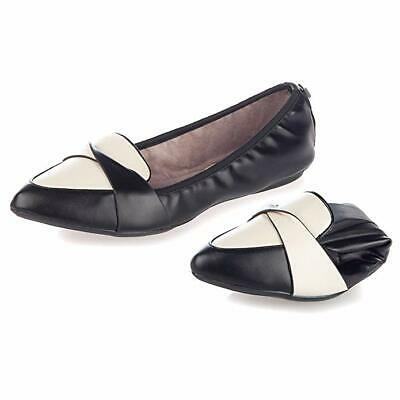 BUTTERFLY TWISTS EVIE Ladies Womens Patent Fold Up Ballerina