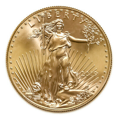 2019 American Gold Eagle 1/10 oz Uncirculated