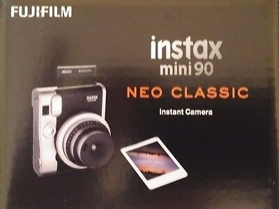 Fujifilm Instax Mini 90 Neo Classic Instant Film Camera Black