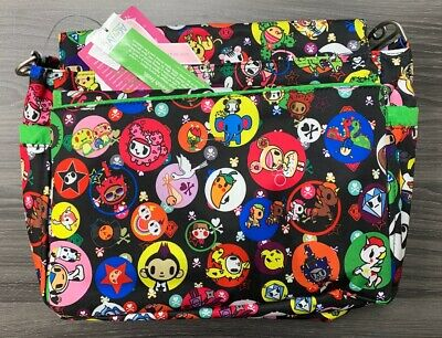 NWT Jujube Tokidoki Bubble Trouble Better Be BetterBe Diaper Messenger Bag