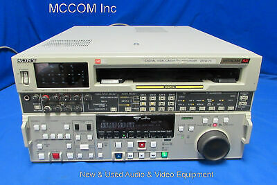 Sony DNW-75  Betacam SX Player Only w/ 4182 tape hrs