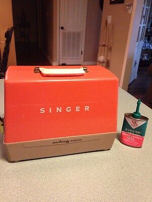 Vintage Singer Handy Electric Sewing Machine