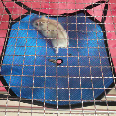 Cat Hammock Pet Hamster Rat Bird Parrot Ferret Hanging Bed Cushion House Cage