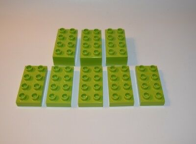 REDUCED  Lot of 2 Genuine LEGO DUPLO 4x8  Base Plate Part # 4672