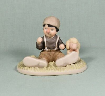 Enesco 1999 Alaska Momma Figurine I Promise You Laughter and Smiles (boy clown)