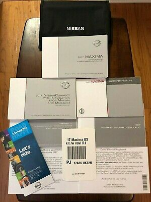 2018 NISSAN ARMADA Owners Manual set with Navigation Book