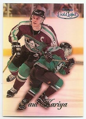 98/99 TOPPS GOLD LABEL CLASS 1 BLACK PARALLEL Hockey (#51-100) U-Pick from List