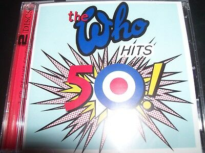 The Who (Roger Daltrey) Hits 50! Very Best Of Greatest Hits (Australia) 2 CD NEW