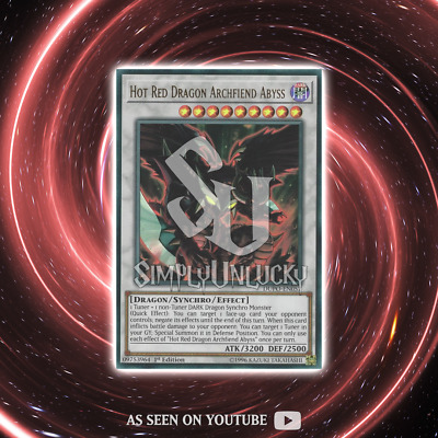 HOT RED DRAGON ARCHFIEND ABYSS | Ultra Rare | DUPO-EN057 Duel Power YuGiOh