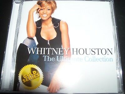 WHITNEY HOUSTON The Ultimate Collection Greatest Hits (Aus) (Gold Series) CD NEW