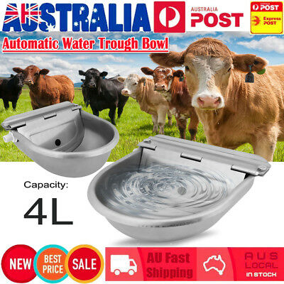 Automatic Float Valve Water Trough Bowl Drinking For Dog Horse Sheep Auto Fill