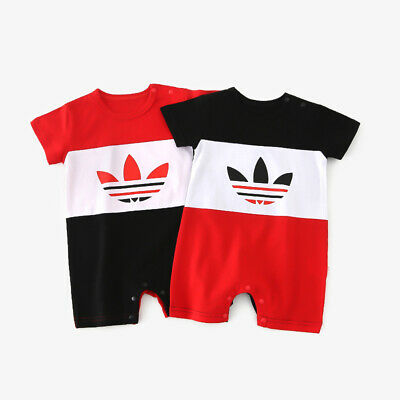 f39b2a181 2019 Baby Short Sleeve Romper Newborn Toddel Babygrows Bodysuits Clothes  Outfit