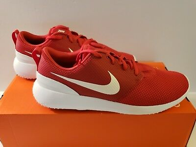 aa9464594dcf MEN S NIKE ROSHE G University Red Golf Shoes -Size 10 -AA1837 600 ...