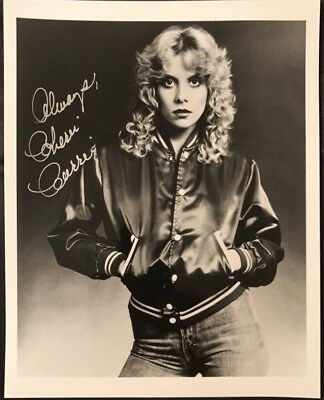 The Runaways Singer Cherie Currie Signed Autographed 8x10 Photo 1980's