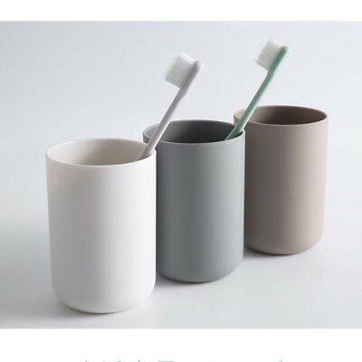 Round Shape Toothbrush Holder Normal Temperature Water Bathroom Tumbler Cup D