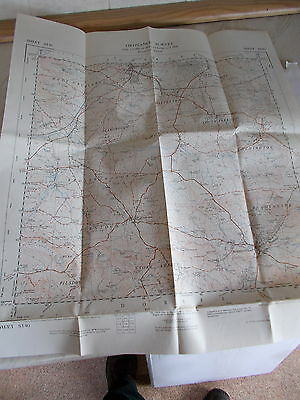 An Ordnance Survey Map Of Parts Of SOMERSET & DORSET - Sheet ST40 Dated 1958