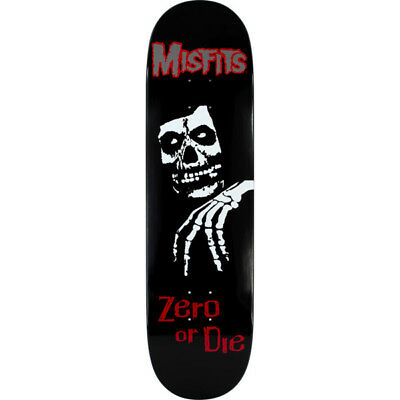 "Zero skateboards Misfits deck Zero or Die 8.25"" FREE MISFITS STICKER PACK"