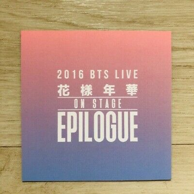 BTS HYYH Live On Stage Epilogue Concert DVD Official Photocard RM Kpop