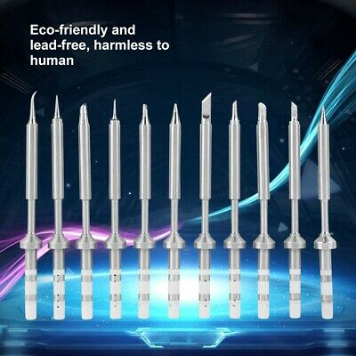 Stainless Steel Electric Soldering Iron Tip Replacement for TS100 Soldering Iron
