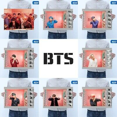 Kpop BTS Poster Hanging Painting All Members MAP_OF_THE_SOUL_PERSONA Photo Gift