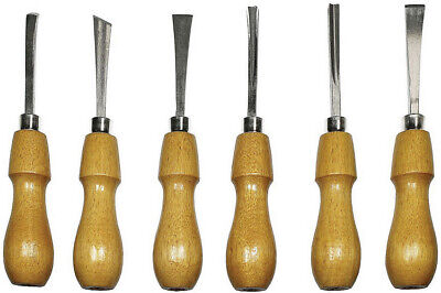 Excel Blades Deluxe Woodcarving Tool Set (6 Tools) - 56009