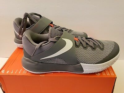 13a04edc040 NIKE ZOOM LIVE 2017 Size 10.5 COOL GREY BASKETBALL TRAINING MEN S 852421-010