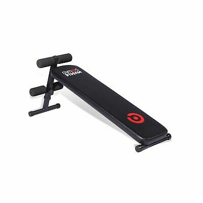 MuscleSquad Folding Sit Up Bench Unisex Workout Muscles