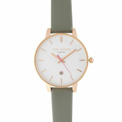 Ted Baker Large Face Watch Ladies Analogue Buckle Fastening Quartz