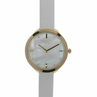 Ted Baker Large Bow Watch Ladies Analogue Buckle Fastening Quartz Stainless
