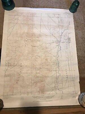 Lot of 4 Geological Survey Maps Department of the Interior- Nevada
