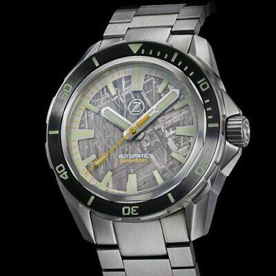 ZELOS watch SWORDFISH 300M DIVER METEORITE- limited edition
