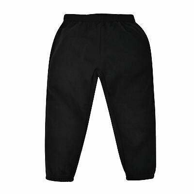 Crafted Fleece Pants Unisex Childrens Boys Jogging Bottoms Trousers Elasticated