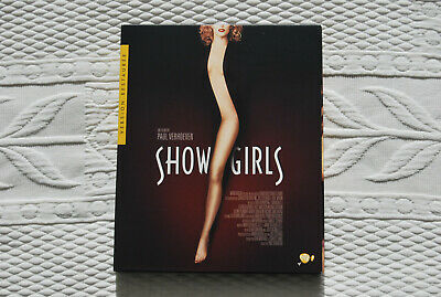 SHOWGIRLS bluray + DVD E Berkley Kyle McLachlan Gina Gershon Paul Verhoeven NEUF