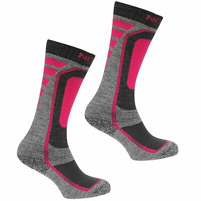 Nevica Meribel 2 Pack Ski Socks Youngster Childrens Ventilated Pattern