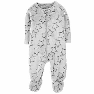 Crafted Essentials Star Sleepsuit Baby Childrens Bodysuit Full Length Sleeve