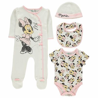 Character 4 Piece Romper Baby Childrens Rompers Sleep Suit Full Length Sleeve