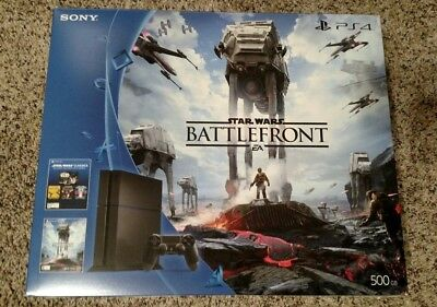 Launch Sony PS4 500GB Jet BATTLEFRONT EMPTY BOX ONLY - NO Playstation 4 Console