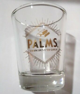 Palms Hotel Casino Las Vegas, Nevada Logo Shot Glass Great For Any Collection!