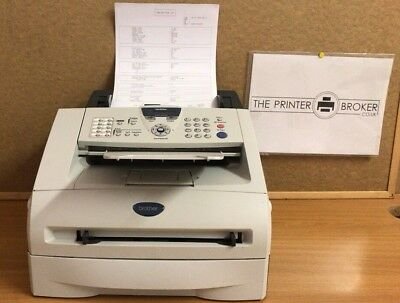 FAX2820U1 - Brother FAX-2820 A4 Mono Fax Machine