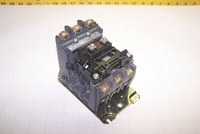 Allen Bradley 10 Hp 27 Amp 600 Vac Size 1 Contactor 120V Coil 500F-Bod93